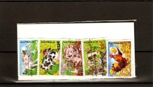 recent Australia 2005 down on the farm stamp set