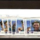 recent Australia 2004 olympic games stamp set of 17
