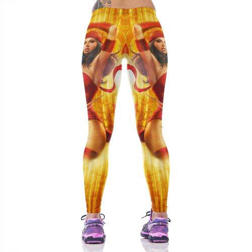 Elektra Daredevil  Womens Leggings Fitness