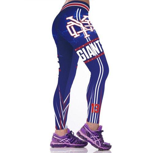 New York Giants Odell Beckham Jr.  Womens Leggings Fitness 2017