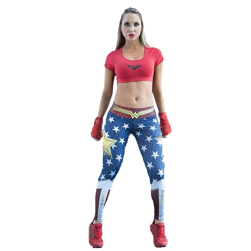Wonder Woman Leggings and Stretch Workout Leggings