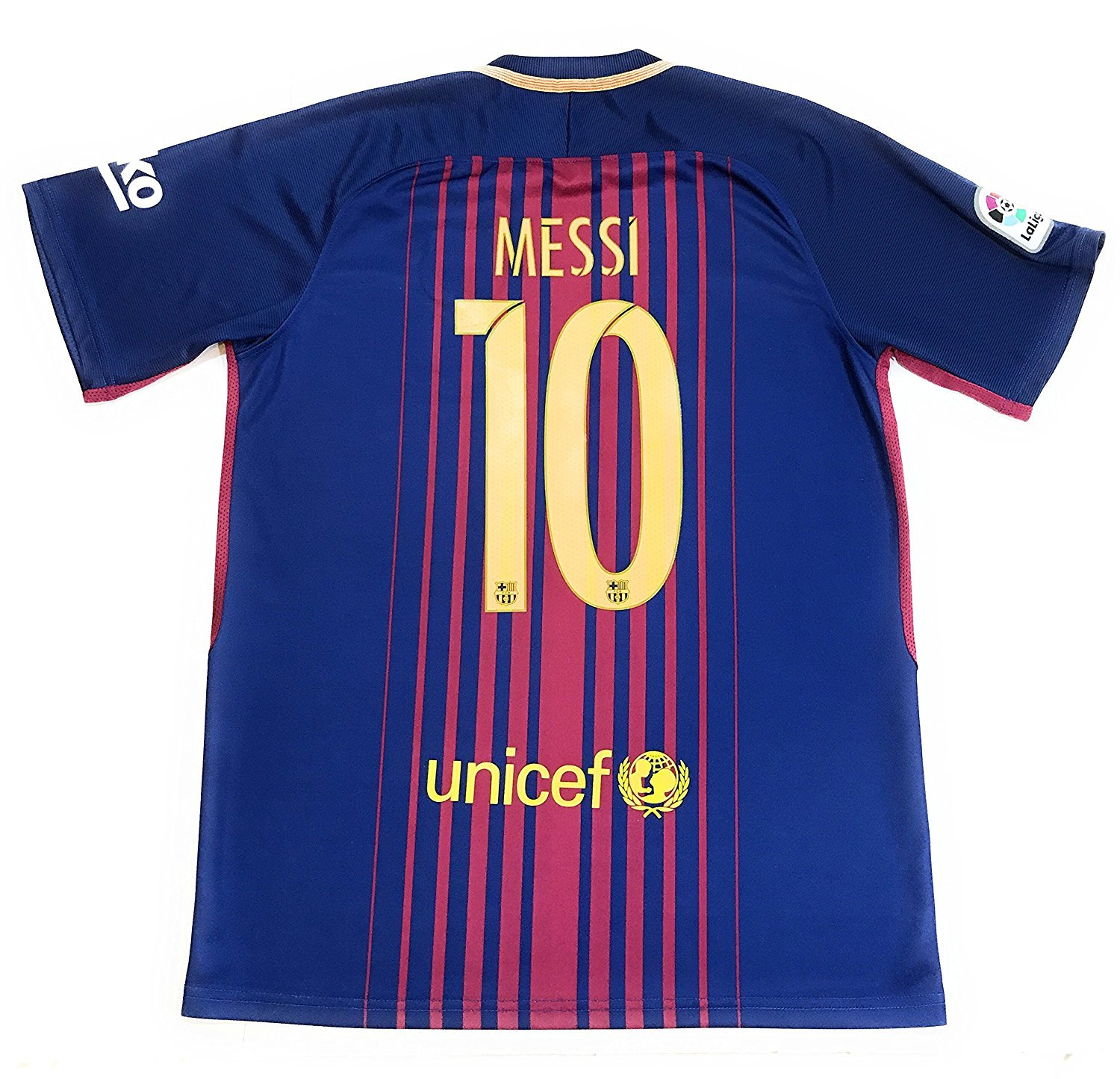 Messi 10 2017 2018 New Fc Barcelona Home Jersey Men Adult