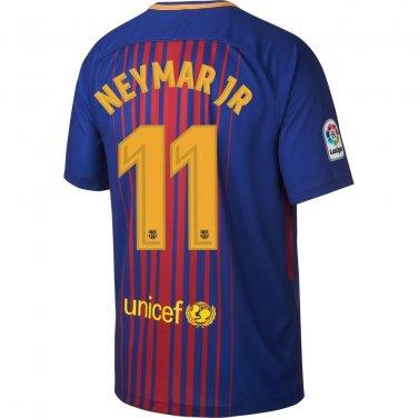 Barcelona Home Neymar Jr Jersey 2017 / 2018