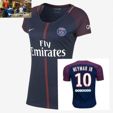 2017-18 Paris Saint-Germain Home  Stadium Shirt - Womens
