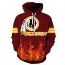 NFL Washington Redskins  Football Team Sport Hoodie