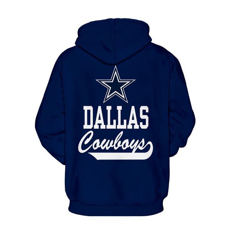 2017 Dallas Cowboys NFL Football Team Sport Hoodie