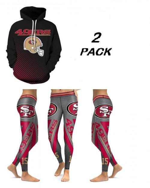 Hoodie & Leggings San Francisco 49ers NFL Two Pack Sport