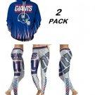 Hoodie & Leggings New York Giants  NFL Two Pack Sport