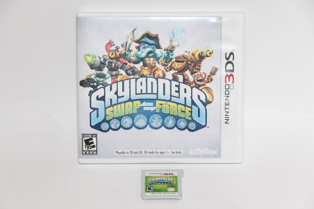 Nintendo 3DS Skylanders Swap Force GAME and Holder Only - SHIPS SAME DAY