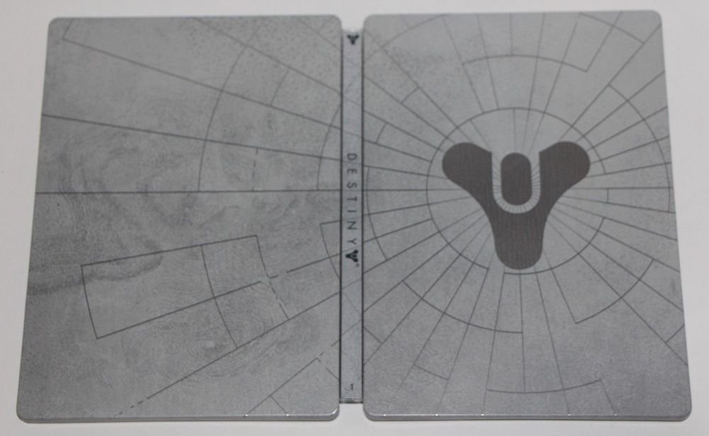 Xbox 360 Destiny Collectors GHOST Limited Edition (G1) STEELBOOK CASE ONLY NEW