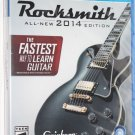 Sony Playstation 4 PS4 Rocksmith 2014 Edition **NO CABLE** GAME ONLY NEW SEALED