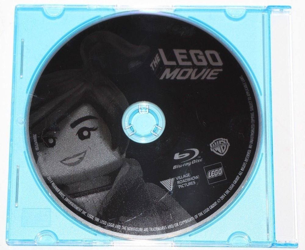 The Lego Movie BLU-RAY DISC ONLY NEW/UNUSED IN JEWEL CASE SHIPS SAME DAY