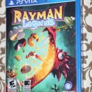 Playstation VITA PS VITA RAYMAN LEGENDS New Sealed Ships Same Day!