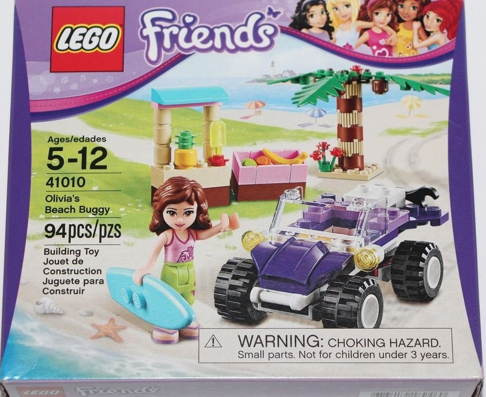 Lego Friends Olivia's Beach Buggy 94 Piece Box Set 41010 Ships Same Day NEW