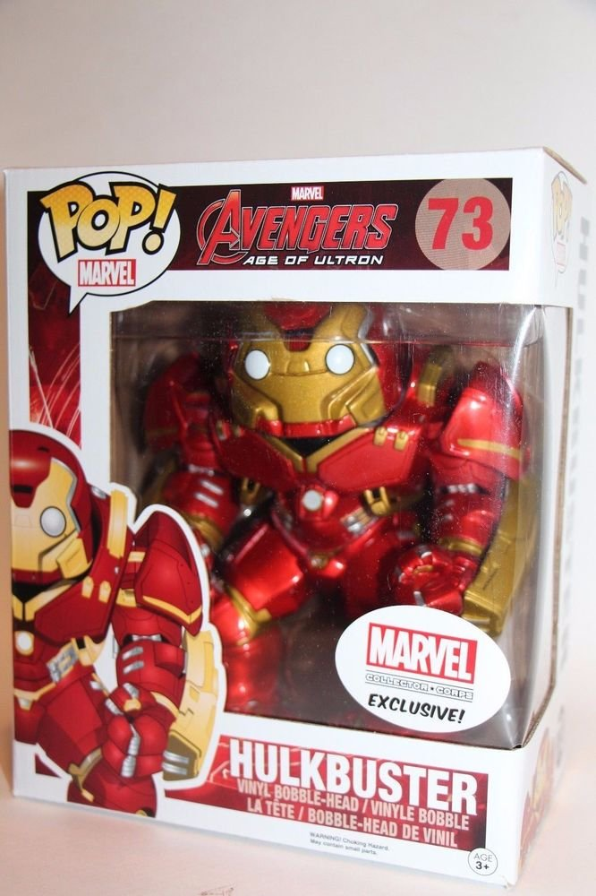 LOT OF 10 EXCLUSIVE 6� MARVEL Iron Man Hulkbuster Funko Pop! SHIPS SAME DAY NEW