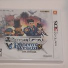 Nintendo 3DS PROFESSOR LAYTON VS PHOENIX WRIGHT ACE ATTORNEY NEW SEALED