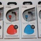 ECKO UNLTD SOUND GLOW STEREO HEADPHONES W MIC ORANGE/BLUE/GREEN/RED NEW