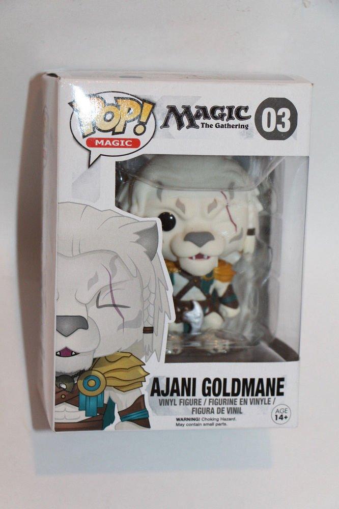Funko Pop  Magic The Gathering AJANI GOLDMANE 03 vinyl figure Ships Boxed