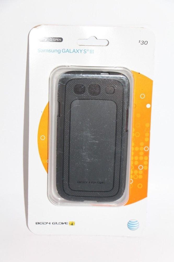 Body Glove Dimensions Gray  Antimicrobial Gel Case Samsung Galaxy S III 3 NEW