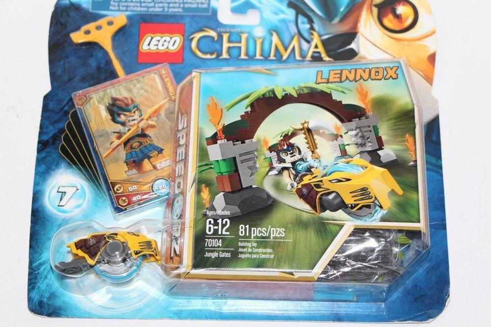 Lego LEGENDS OF CHIMA Jungle Gates Lennox Speedorz (70104) NEW Sealed SHips Fast