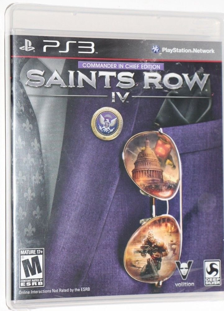 Playstation 3 PS3 Saints Row IV: Commander in Chief Edition New SHIPS SAME DAY