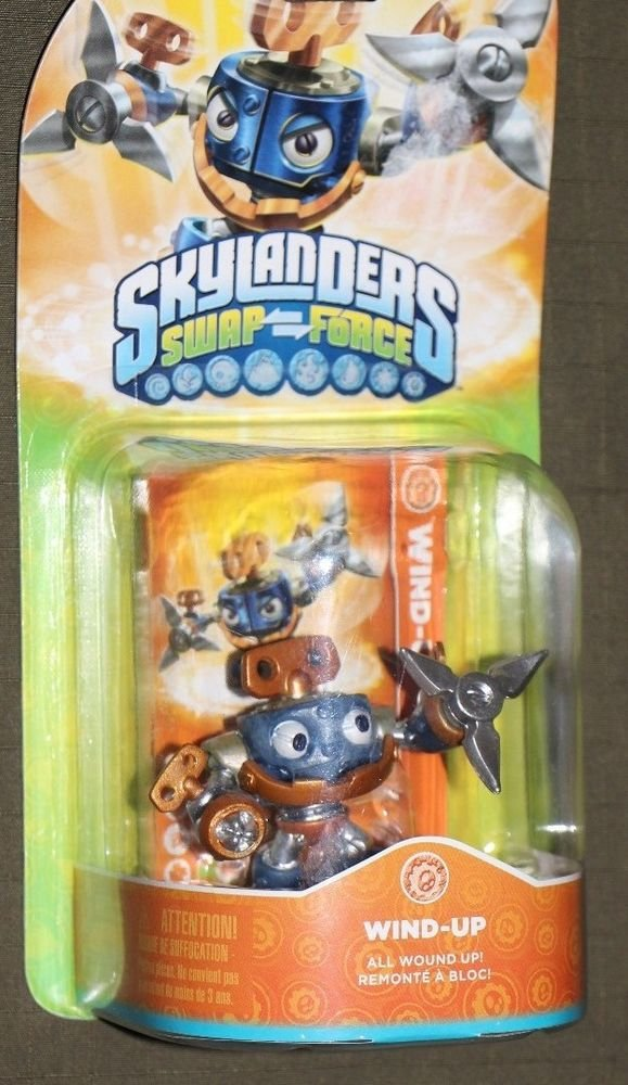 Skylanders Swap Force WIND-UP Xbox One 360 PS3 PS4 Wii U 3DS NEW Ships Same Day!