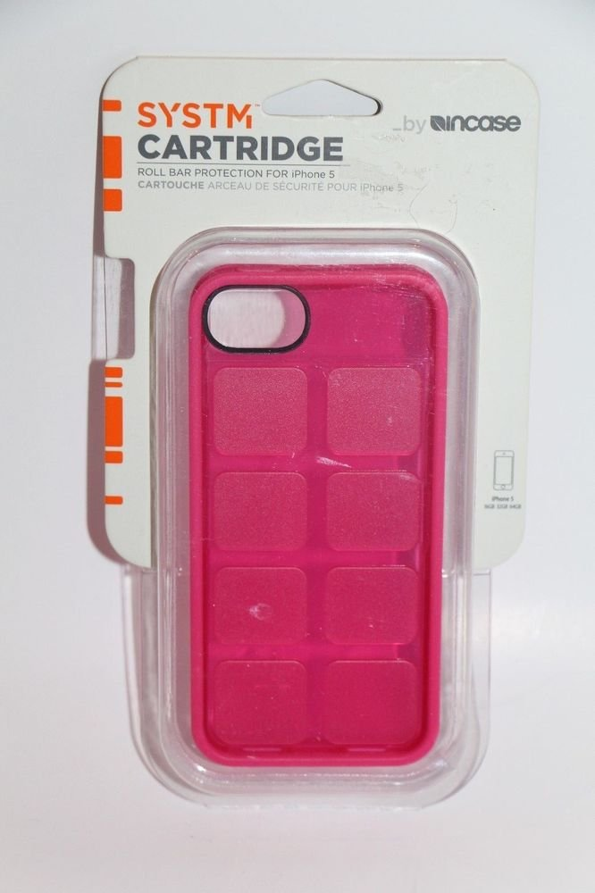 iPhone 5 Incase SYSTM CARTRIDGE Pop Pink Phone Case SY10044 NEW