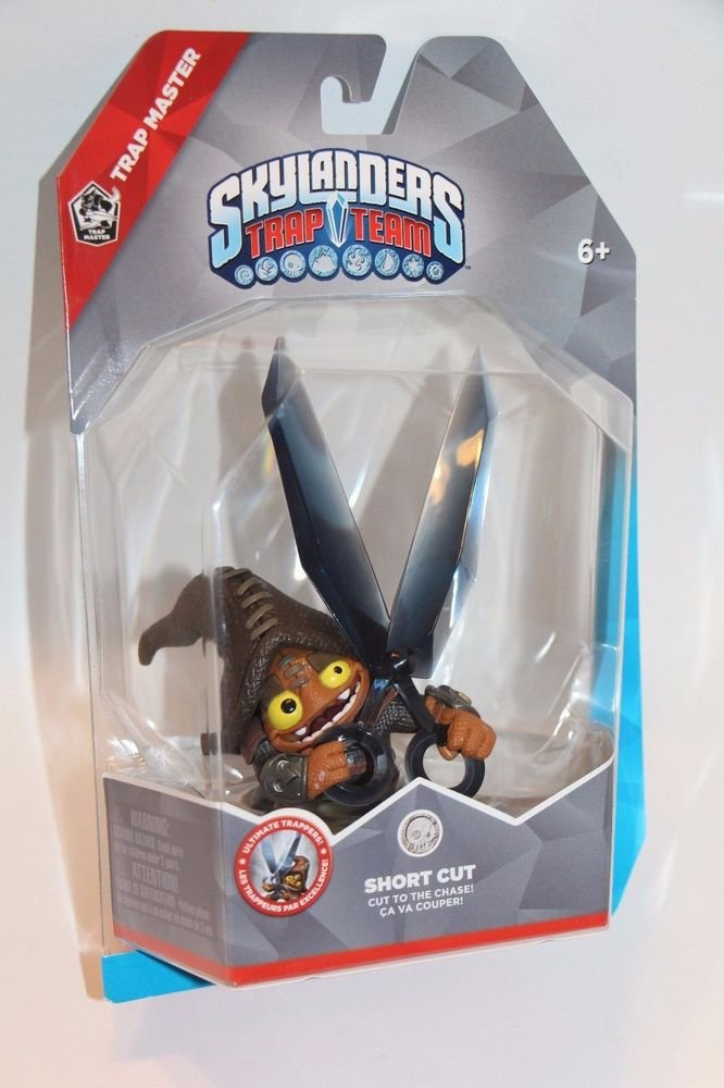 Skylanders Trap Team Trap Master SHORT CUT NEW SEALED SHIPS SAME DAY IN A BOX