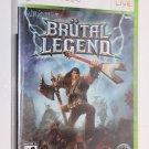 Xbox 360 BRUTAL LEGEND New Factory Sealed Ships Same Day
