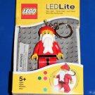 Lego SANTA LED KEY LIGHT Key Chain Original Package NEW! great stocking stuffer