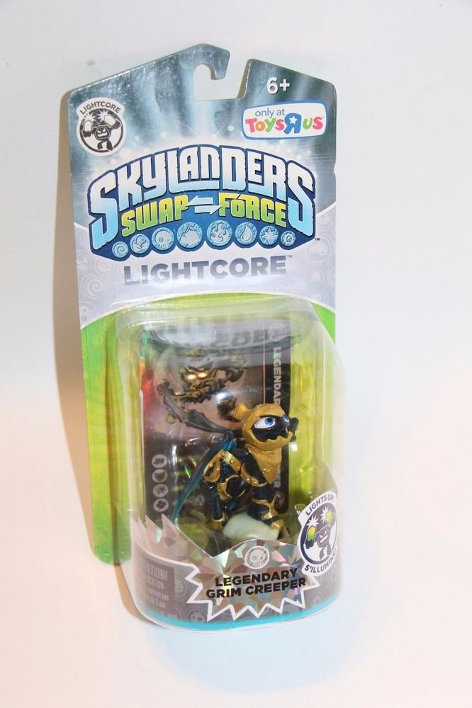 Skylanders Swap Force Trap Team LEGENDARY GRIM CREEPER LIGHTCORE NEW