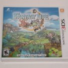 Nintendo 3DS FANTASY LIFE NEW SEALED SHIPS SAME DAY