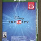 XBOX ONE DISNEY INFINITY 2.0 GAME ONLY NEW SEALED  NTSC US/CANADA Ships Same Day