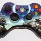 Genuine Microsoft Xbox 360 HALO 3 SPARTAN  WIRELESS CONTROLLER GREAT CONDITION!