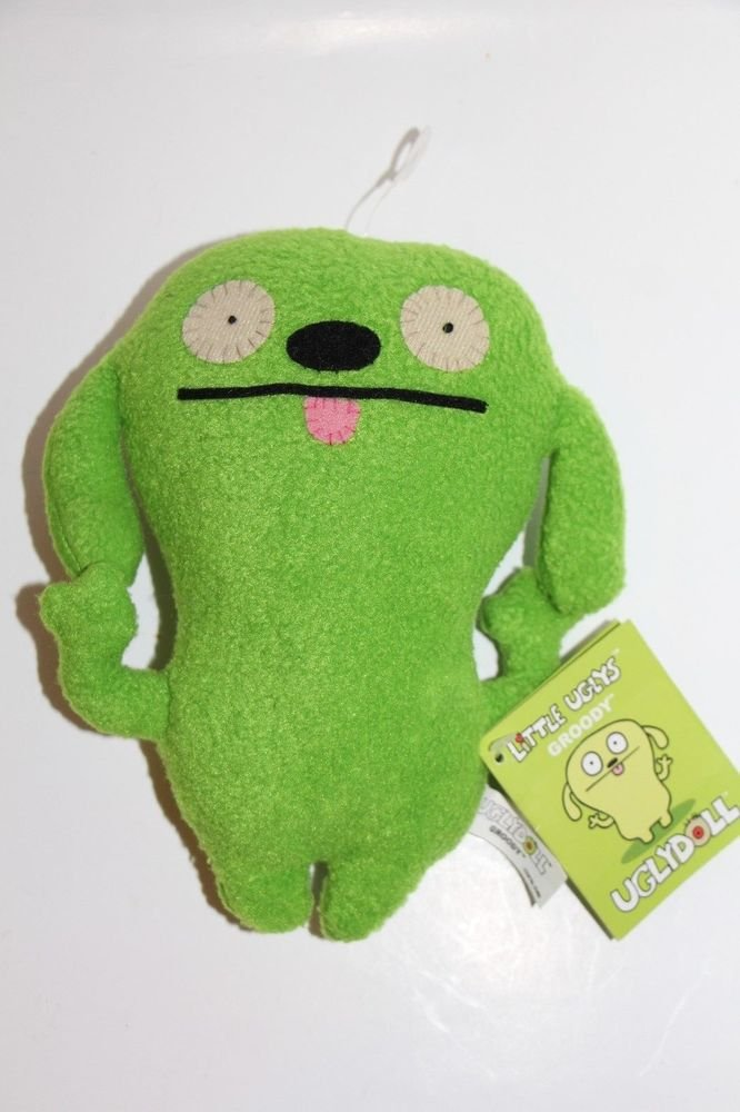 UGLY DOLL Gund GROODY Green NEW with tags