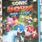 Nintendo Wii U SONIC BOOM RISE OF LYRIC Factory Sealed NEW Ship Same Day