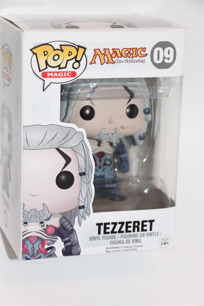 Funko Pop  Magic The Gathering TEZZERET 09 vinyl figure Ships Boxed SAME DAY