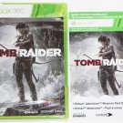 Xbox 360 Tomb Raider GAME W/ HITMAN WEAPONS DLC NEW SEALED SHIPS SAME DAY