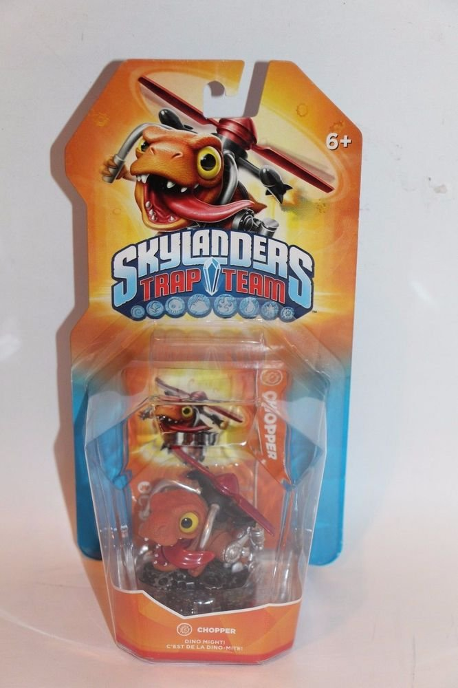 Skylanders Trap Team CHOPPER NEW SEALED SHIPS SAME DAY IN A BOX