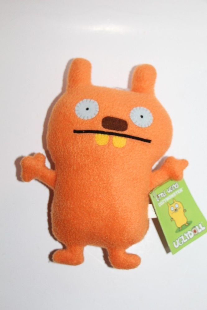 "UGLY DOLL Gund Little Uglys COZY MONSTER Orange 7"" NEW with tags"