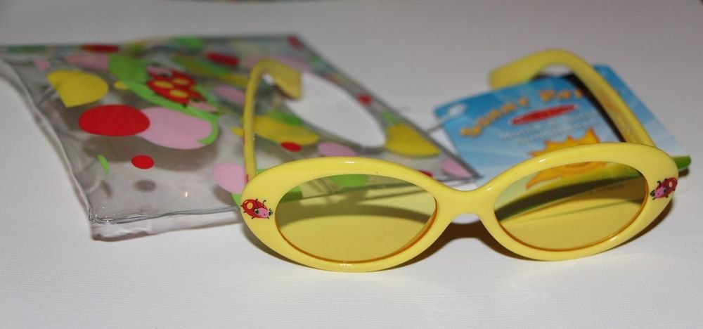 Melissa and Doug Sunny Patch Mollie & Bollie GirlsSunglasses w/ Carrying Pouch