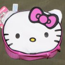 Hello Kitty Sanrio Lunch Box Lunch Bag INSULATED Pink & White NEW