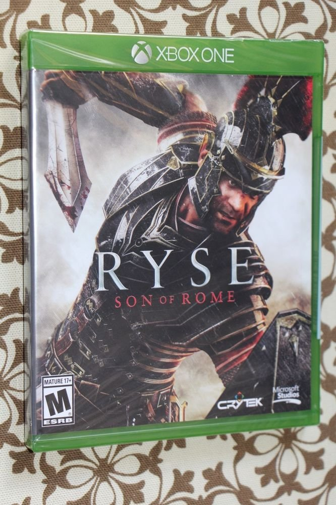 XBOX ONE RYSE: SON OF ROME NEW SEALED  NTSC US/CANADA