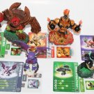 Skylanders Tree Rex Ninja Stealth Elf Cynder Punch Pop Fizz Blast Zone BUNDLE!