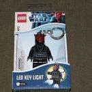 Lego Star Wars DARTH MAUL LED KEY LIGHT Key Chain Great Gift Stocking Stuffer