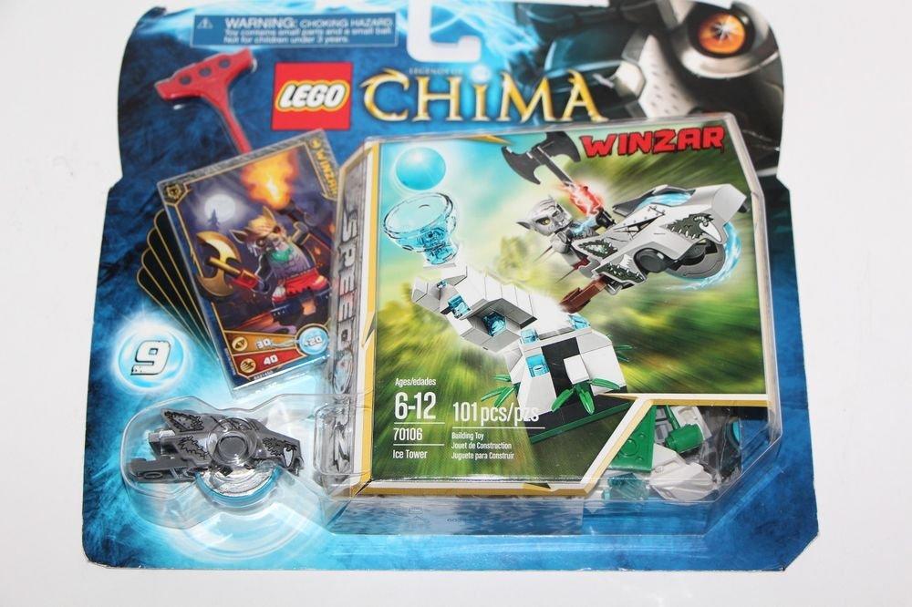 Lego LEGENDS OF CHIMA Speedorz Winzar Ice Tower (70106)