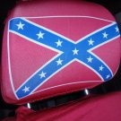 Confederate Flag Headrest