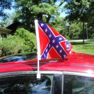 Confederate Flag Car Window Flag