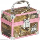 NEW RG BY CABOODLES REALTREE AP PINK CAMO SMALL TRAIN MAKEUP CASE/BOX 4502-20