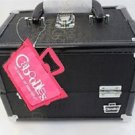 Caboodles Rock Star  Black Cosmetic Makeup Grande Train Case